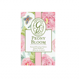 Greenleaf Small Scented Sachet - Peony Bloom